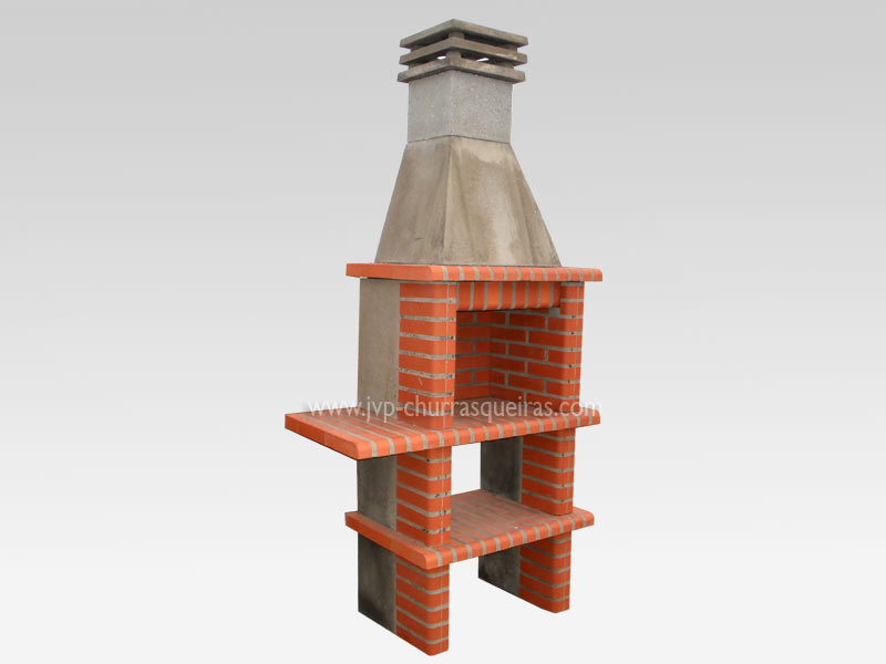 Brick Barbecue 44, Manufacture Garden Brick Barbecue Grill - BBQ in refractory bricks, Brick barbecues Grill, BBQ nice price, Cheap BBQ, churrasqueiras, Outdoor Barbecue Grill, charcoal barbecue grill, outdoor barbecue grills, charcoal grill, Barbecue and Pizza Oven, Barbecue Grill, Churrasqueiras, bbq with bricks