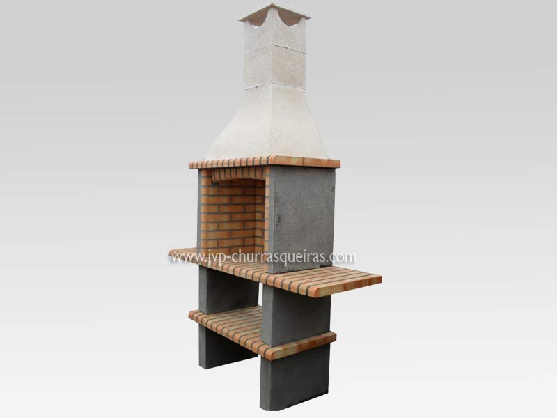 Brick Barbecue 120, Manufacture Garden Brick Barbecue Grill - BBQ in refractory bricks, Brick barbecues Grill, BBQ nice price, Cheap BBQ, churrasqueiras, Outdoor Barbecue Grill, charcoal barbecue grill, outdoor barbecue grills, charcoal grill, Barbecue and Pizza Oven, Barbecue Grill, Churrasqueiras, bbq with bricks