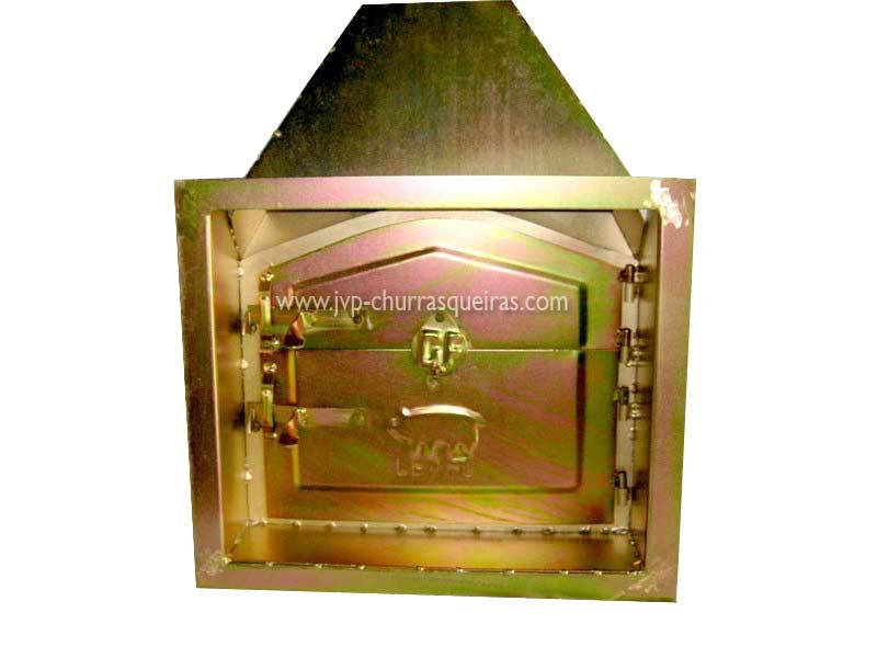 Oven door PFLF, barbecues bricks manufacturers. Portuguese manufacturer. Masonry Barbecue, Barbecues, grill, utensils